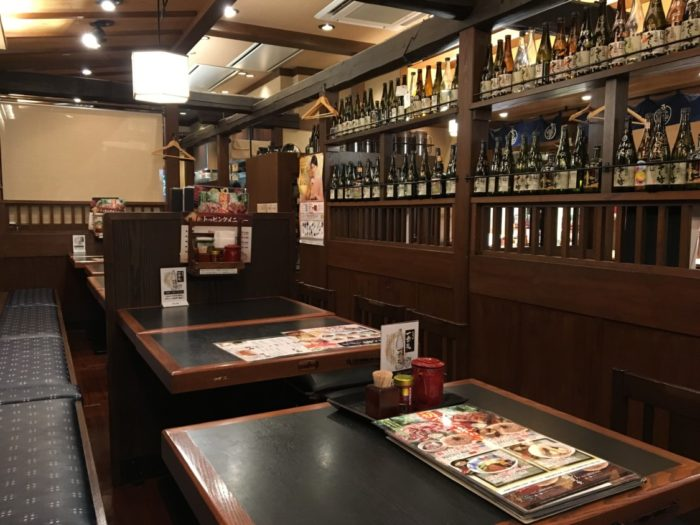 そじ坊堺東 店内