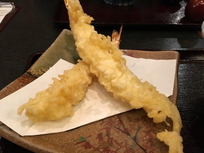 そじ坊堺東 天ぷらそばの海老天2尾