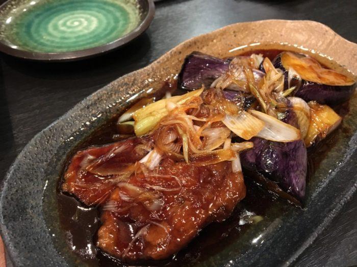 そじ坊堺東 鴨と茄子のくわ焼き