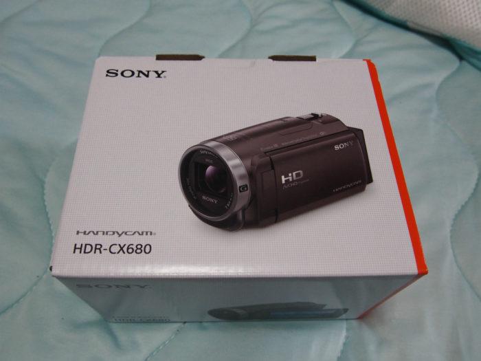 HDR-CX680 外箱