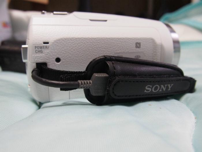 HDR-CX680 バンド部分