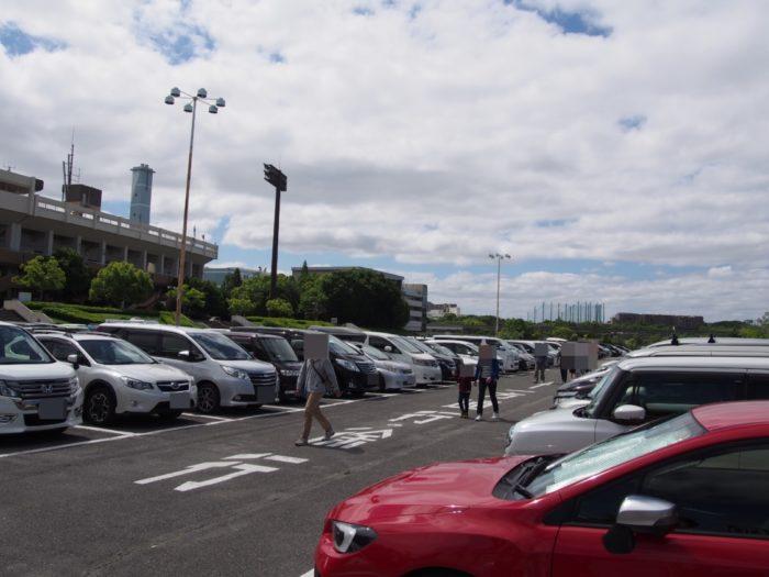 アウトドアパーク2018 万博公園東駐車場
