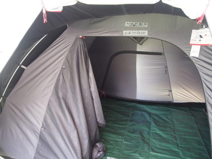 アウトドアパーク2018 コールマン遮光テント