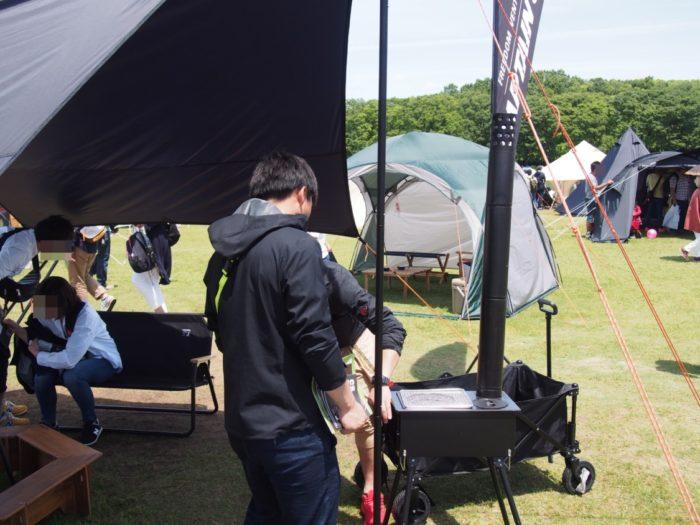 アウトドアパーク2018 キャンプテンスタッグブラックラベル