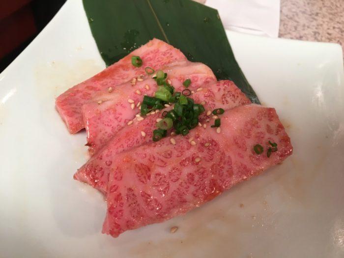 2018-07-23あいうえお 三角カルビらしき肉