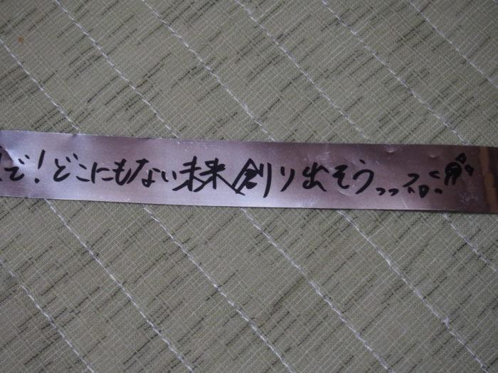 NANA MIZUKI LIVE ISLAND 2018大阪城2日目銀テープ3
