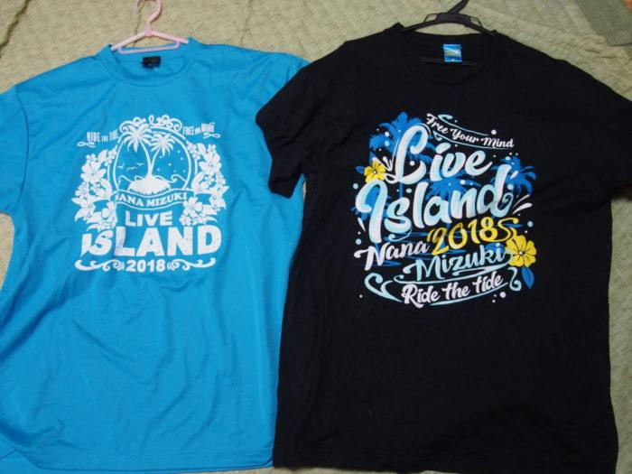 NANA MIZUKI LIVE ISLAND 2018大阪城2日目限定Tシャツ