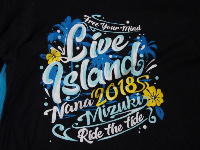NANA MIZUKI LIVE ISLAND 2018大阪城2日目限定Tシャツ表