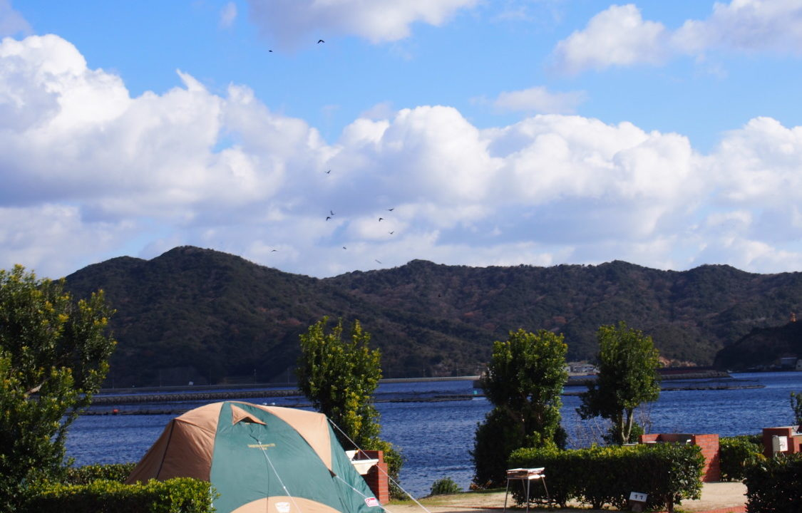 南淡路シーサイドキャンプ場のサイト