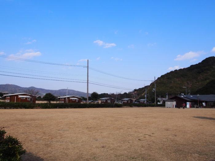 じゃのひれキャンプ場広場