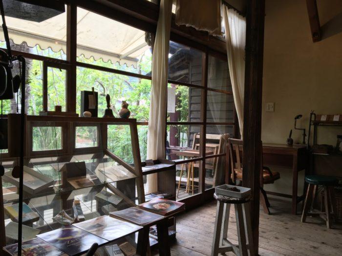 喫茶ミンカ店内