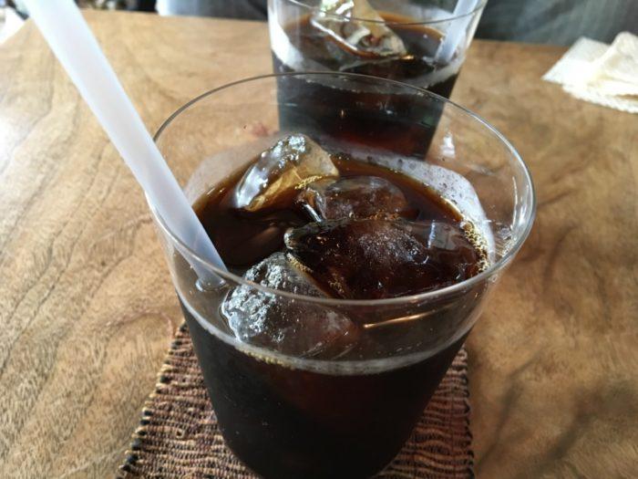 喫茶ミンカの水出しアイスコーヒー