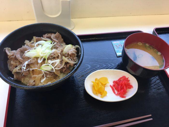 亀山パーキング下り 松阪肉の牛丼