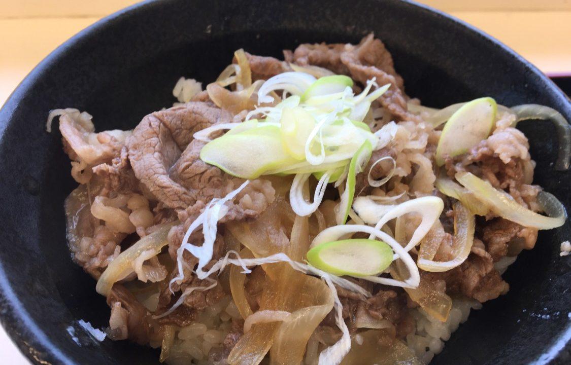 亀山パーキング下り うまい牛丼