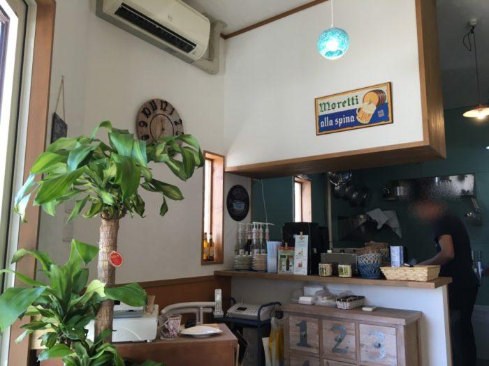 Buon Buono(ぶぉん ぶぉーの) 客席から見えるキッチン