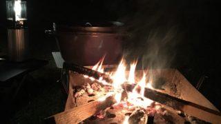 2018-11-09 焚き火とダッチオーブン