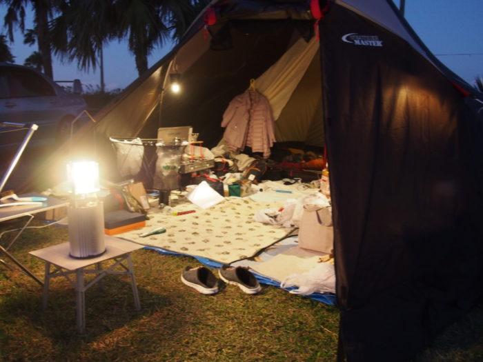 2018-11-09 テントとリビング
