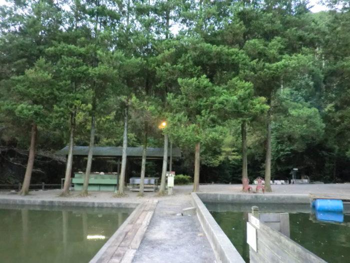 20110923アウトドアベース犬山キャンプ場 池