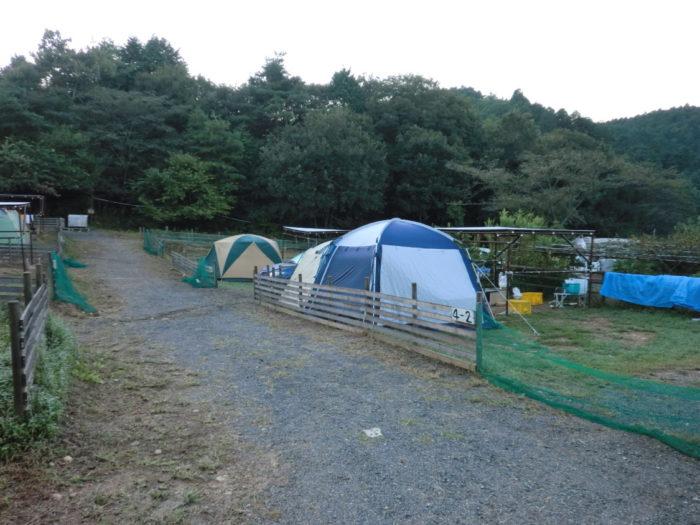 20110923アウトドアベース犬山キャンプ場 キャンパーたち