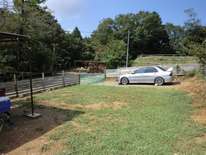 20120921犬山キャンプ場 広々ドッグフリーサイト