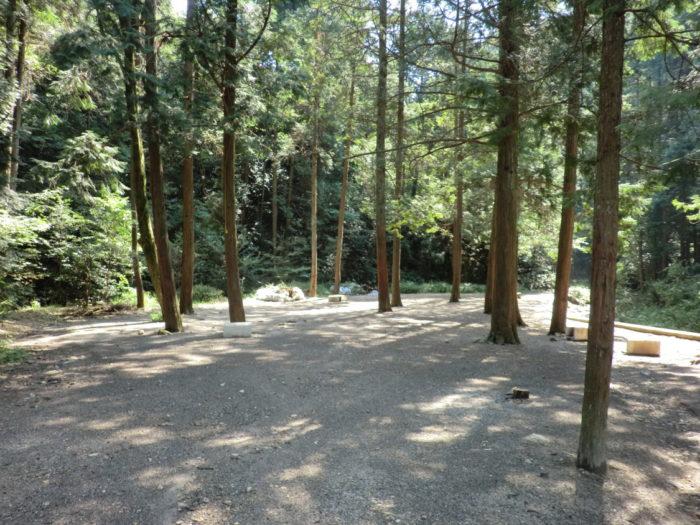 20120921犬山キャンプ場 フリーサイト