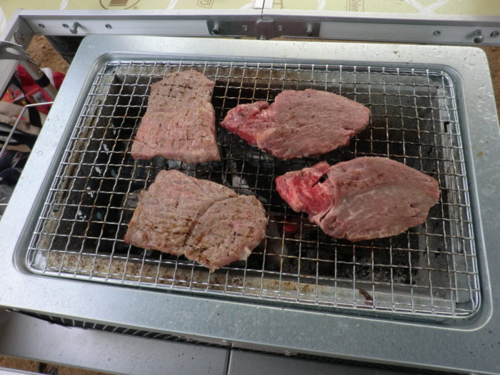 20120922犬山キャンプ場 朝BBQ
