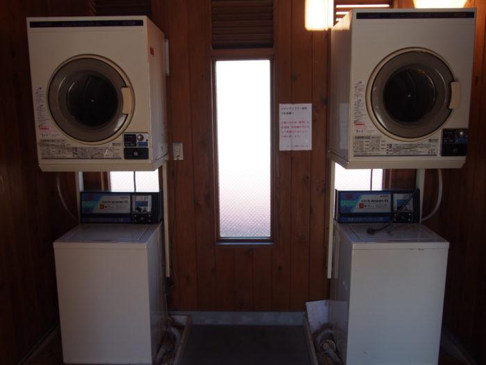 20131130サンビレッジ曽爾 洗濯機