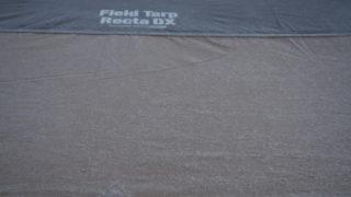 2013-12-01奥香落オートキャンプ場 白くなったタープ