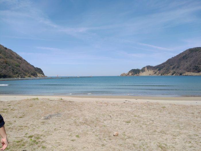 2019-03-09 気比の浜キャンプ場 砂浜