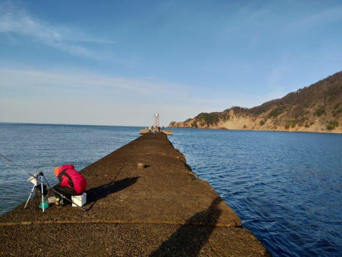 2019-03-09 気比の浜堤防