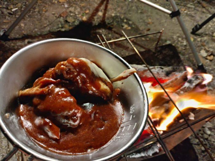 丸山県民サンビーチ煮込みハンバーグ