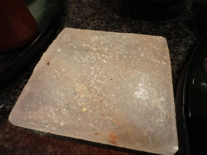 とんかつマンジェ 岩塩プレート
