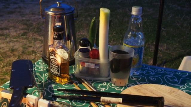 2019-03-09 気比の浜キャンプ場 ウイスキー