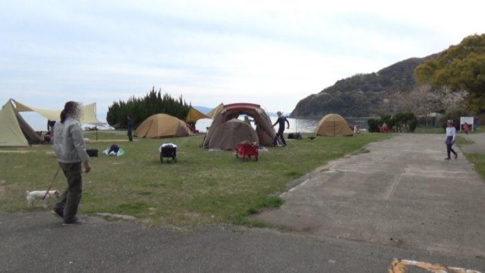 丸山県民サンビーチ芝生サイト