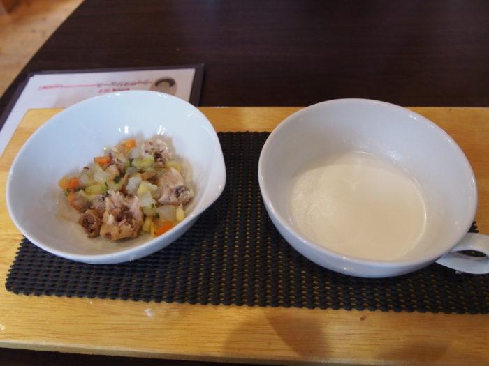 リンク&リリー ワンコ用野菜煮込みとヤギミルク