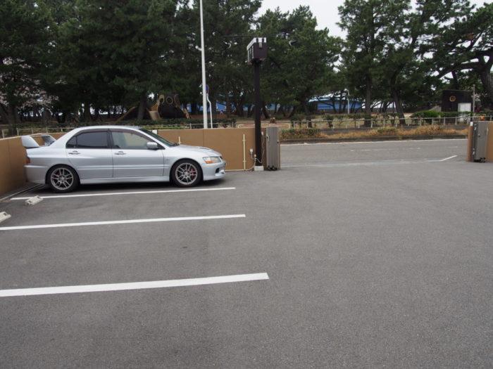 Seaside CAFE 散歩道 駐車場