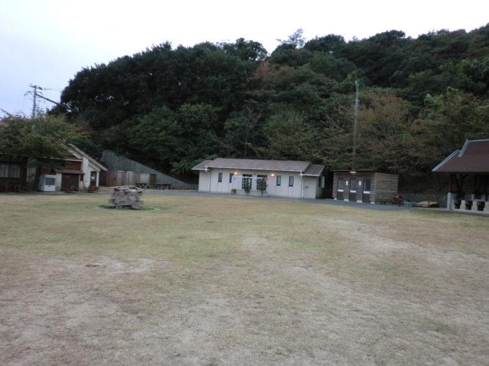 南淡路シーサイドキャンプ場 広場