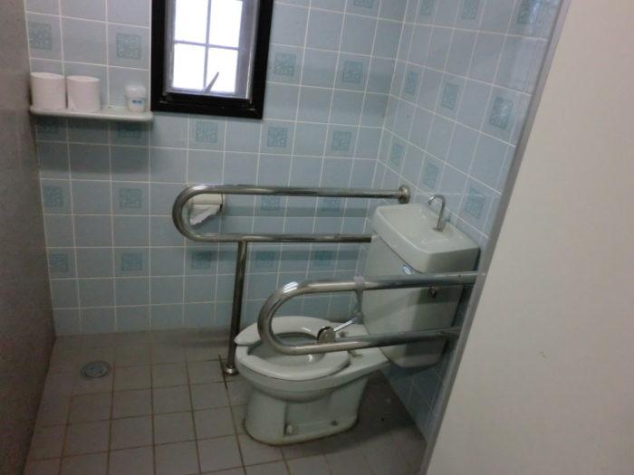 南淡路シーサイドキャンプ場 洋式トイレ