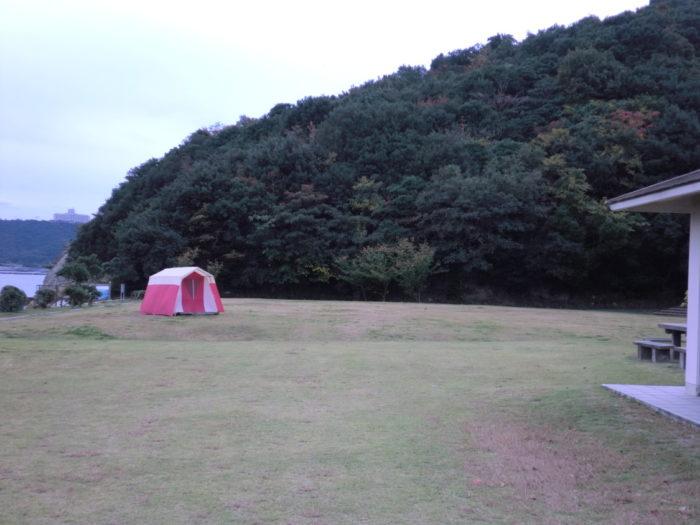 南淡路シーサイドキャンプ場 フリーサイト
