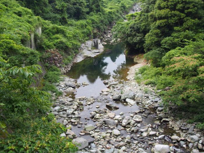 マイントピア別子 前の川