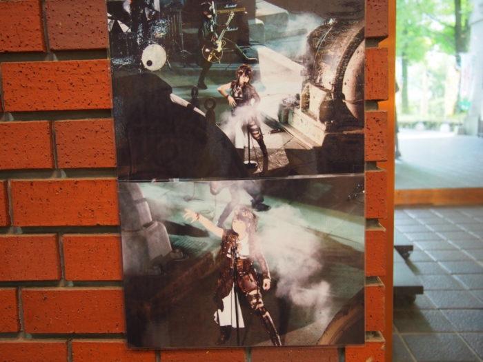 マイントピア別子 旧水力発電所でのロケの写真