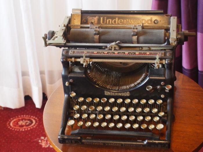 うろこの家 タイプライター
