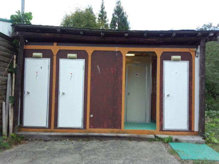 N.E.W奥長良キャンプ場 トイレ