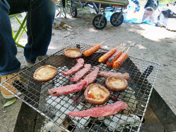 大泉緑地でコストコ食材BBQ