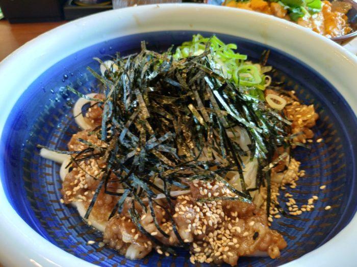 丸亀製麺堺浜寺 肉つけうどん