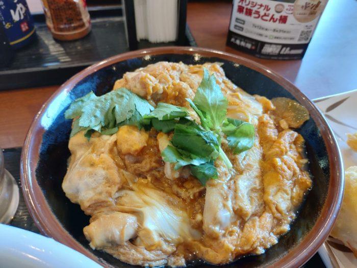 丸亀製麺堺浜寺 ミニ親子丼
