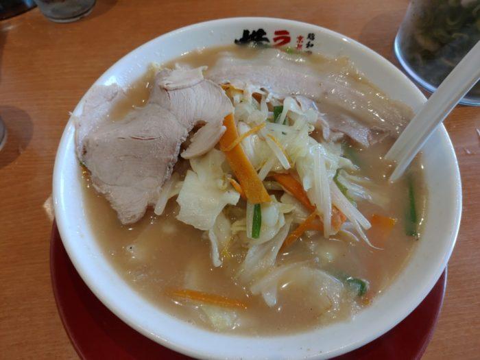 ラーメン横綱プラットプラット 炒菜ラーメン