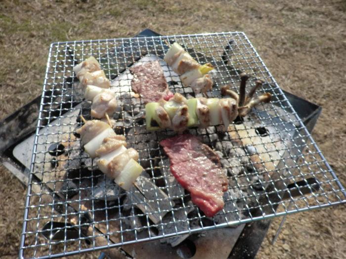 20130112じゃのひれ 焼鳥BBQ