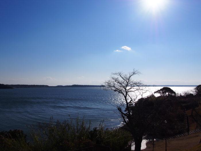 浜名湖SA 晴天の景色