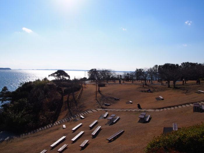 浜名湖SA 遊歩道